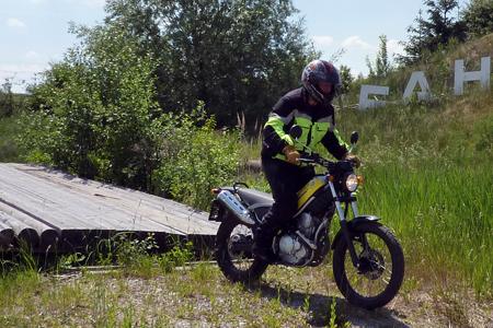 Motorrad Offroad-Training