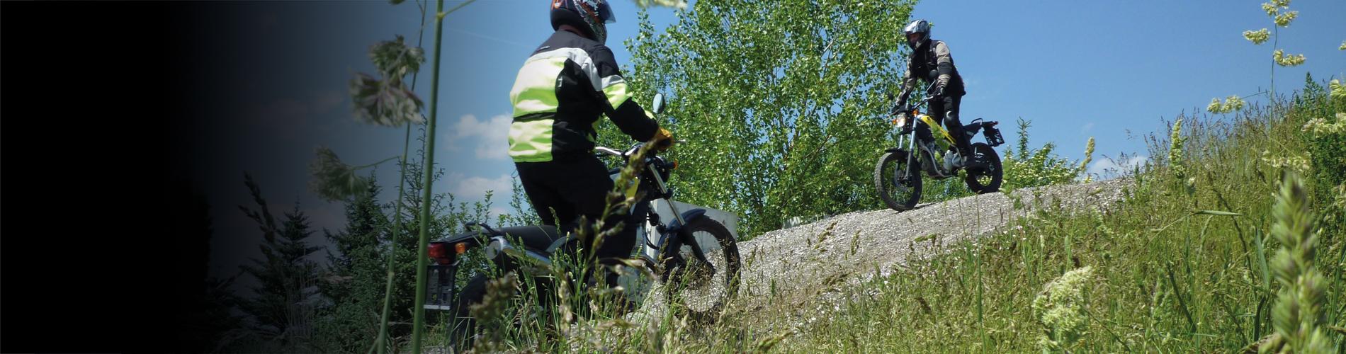 Offroad-Training Motorrad